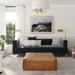 How To Use An Ottoman As A Coffee Table And More Havenly S Blog