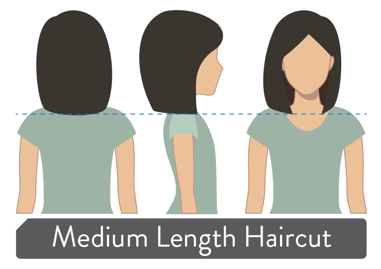 Haven Salon Medium Length Haircut Demonstration