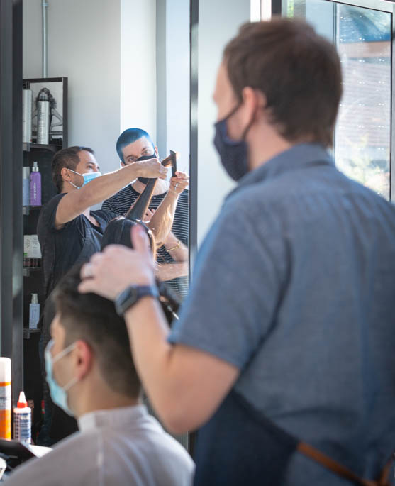 Unique hair cutting and styles at Haven Salon