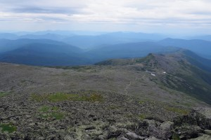 Mt Washington Trail, from the Summit