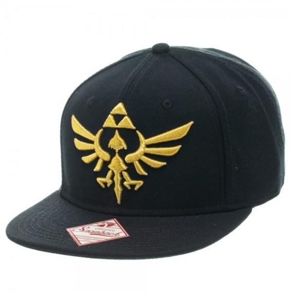 nintendo-zelda-logo-black-snapback-cap-25910_0b078