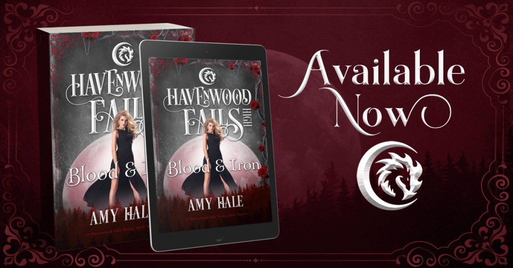 Blood & Iron by Amy Hale Release Day