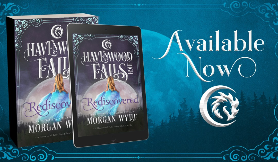 Release Day for Rediscovered