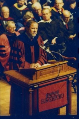 President Tom Kessinger's 1988 inaugural address.