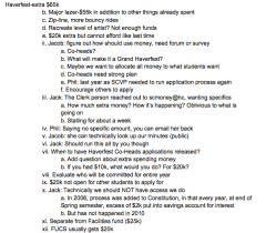 SC's discussion about Haverfest from 10/27. Click to enlarge.
