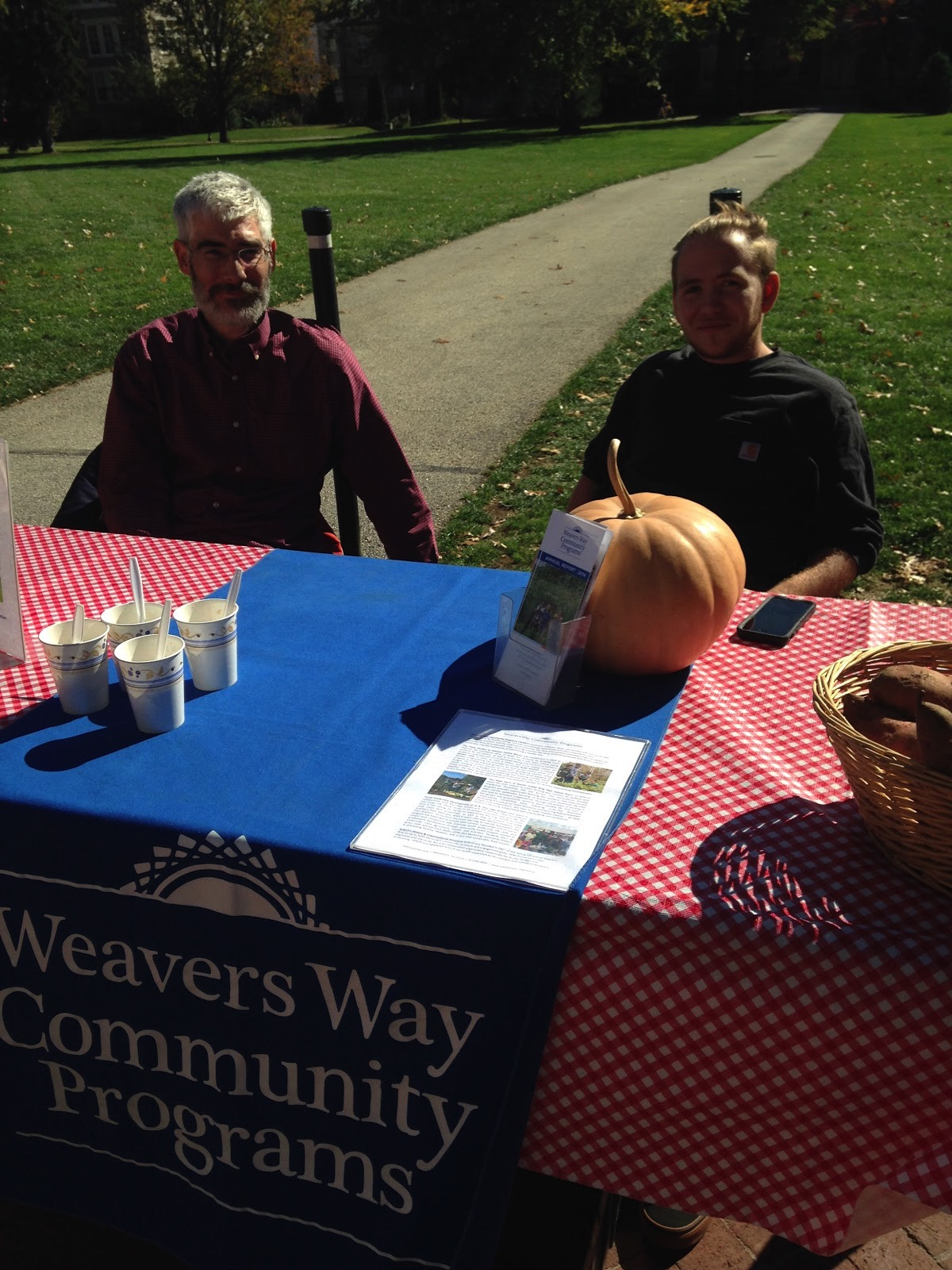 Representatives from Weavers Way Community Programs.