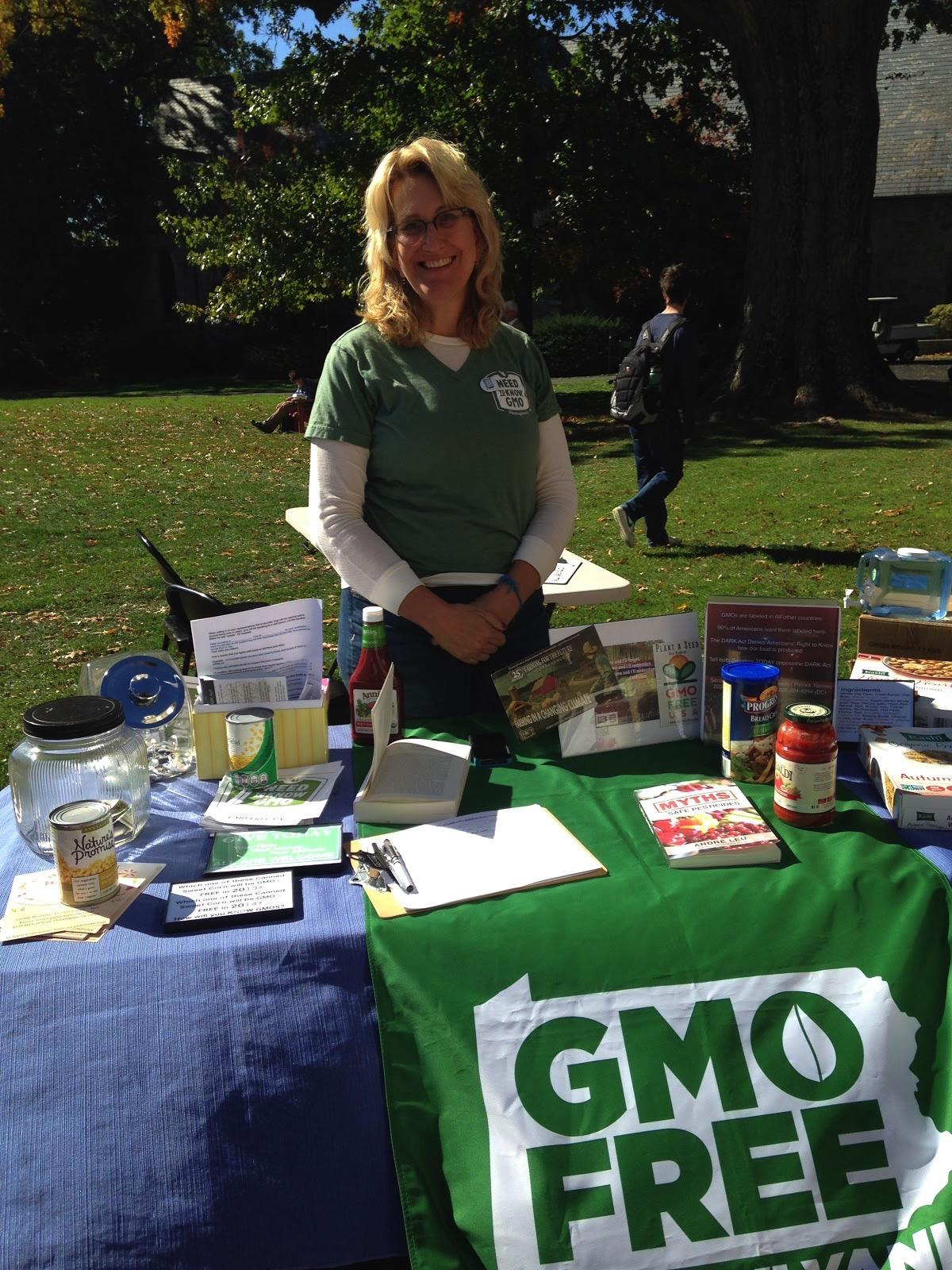 Representative from GMO Free Pennsylvania.