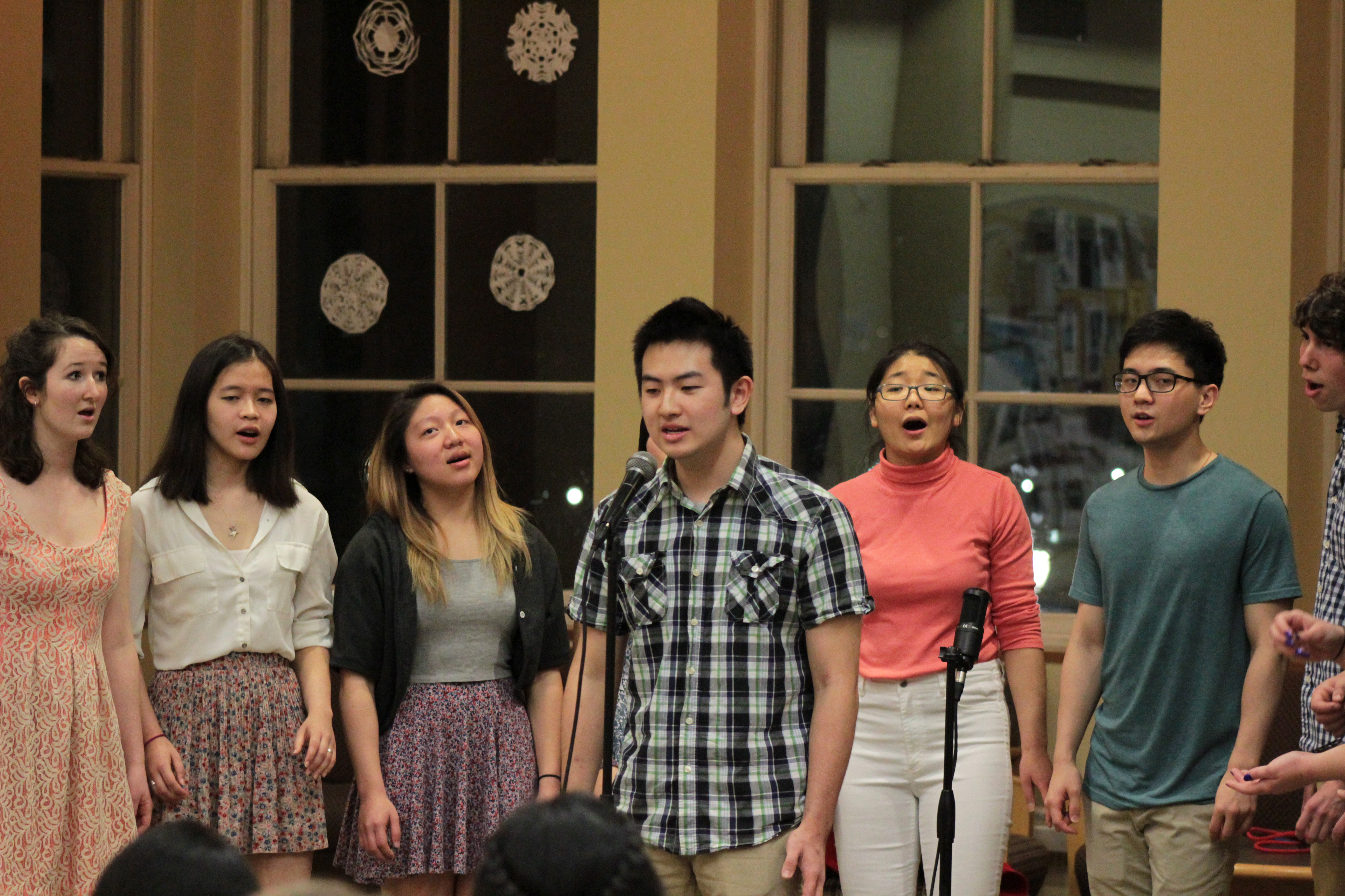 """Kevin Liao HC '18 sings the solo part of """"Radio"""" by Die Wise Guys"""