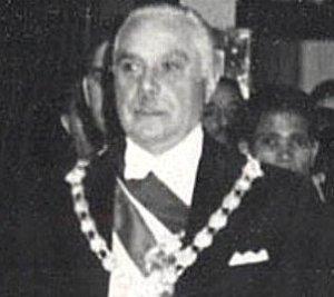 Rafael Trujillo of the Dominican Republic in 1952. Public Domain.