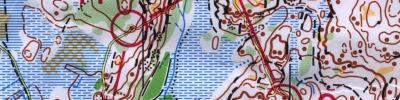 Kart fra 3. etappe i Slovenia