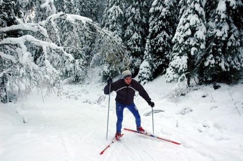 Magnus ble som et barn når det ble skiføre