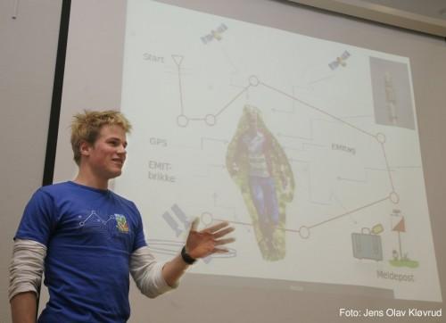 Som medlem i Tekonologiteamet til WOC 2010 holdt jeg foredrag.