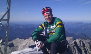 På toppen av Hoche Dachstein