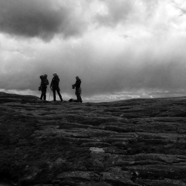 Toppa ut på kilekurs med Klatresenteret / DNT. Topp folk, flott natur, lærte masse og nesten ikke regn.