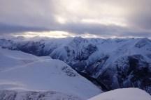 Utsikt over vakre Romsdalsfjell