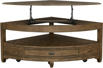 anniston wedge coffee table