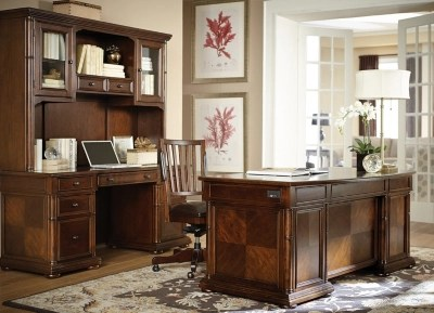Desks and Hutches for Your Office   Havertys Martin s Landing Executive Desk