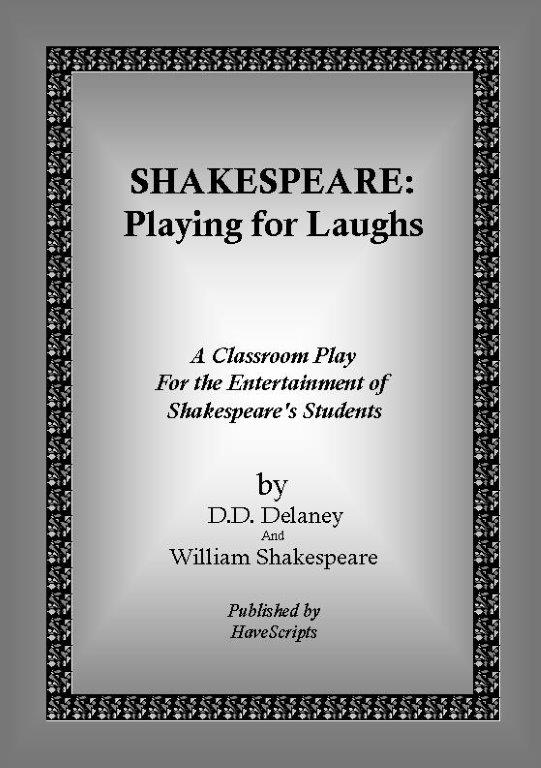 Shakespeare: Playing for Laughs - Play Script Cover