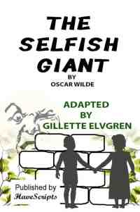 The Selfish Giant Play Script Book Cover