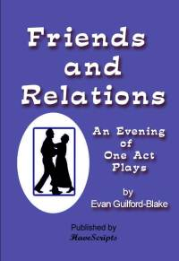 Friends and Relations plays for seniors book cover image
