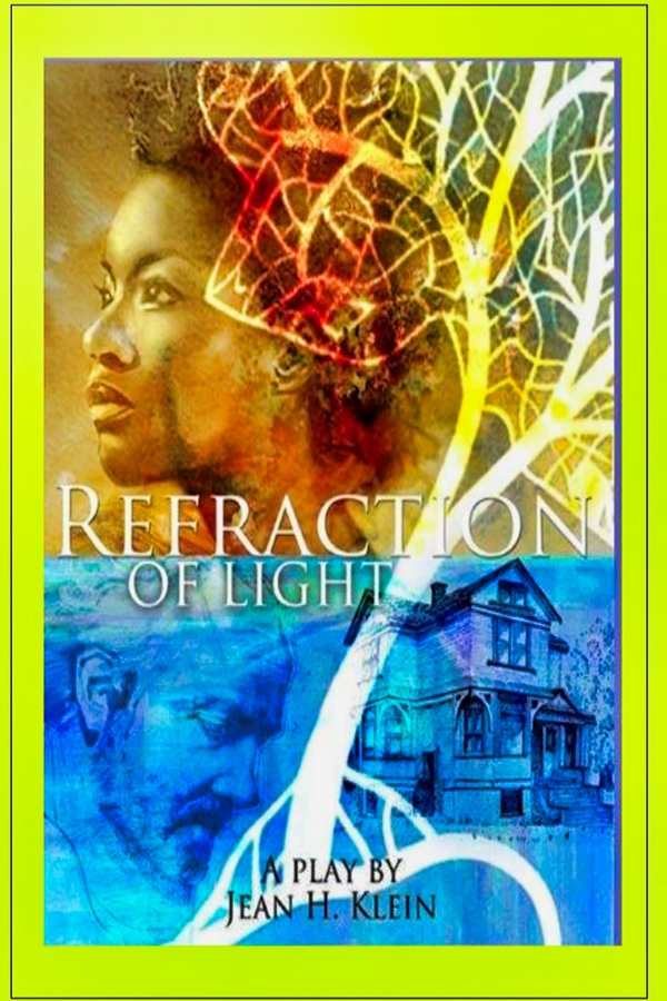 refraction of light play script front cover