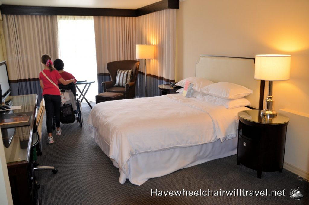sheraton accessible room kids