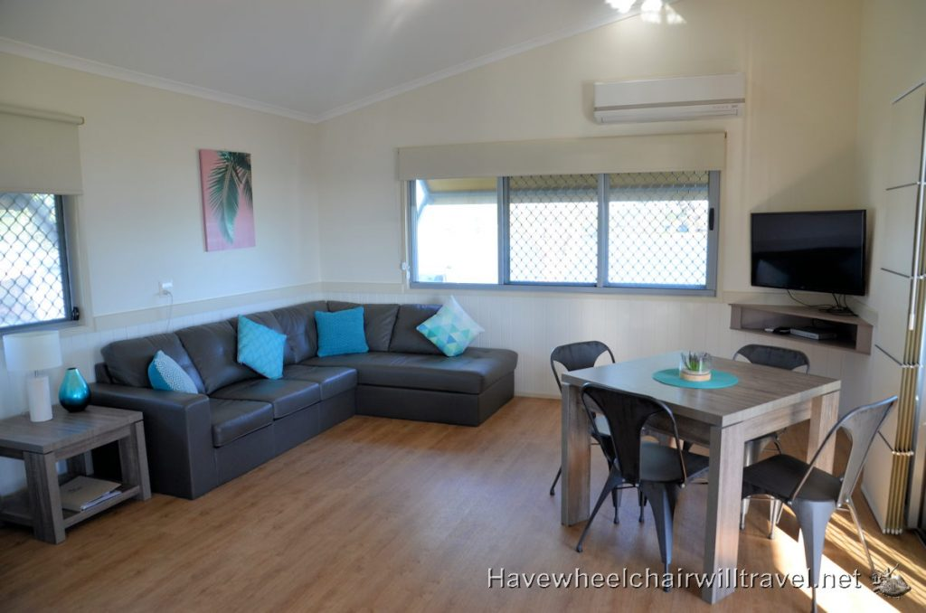 reflections Holiday Parks Shaws Bay accessible accommodation Ballina