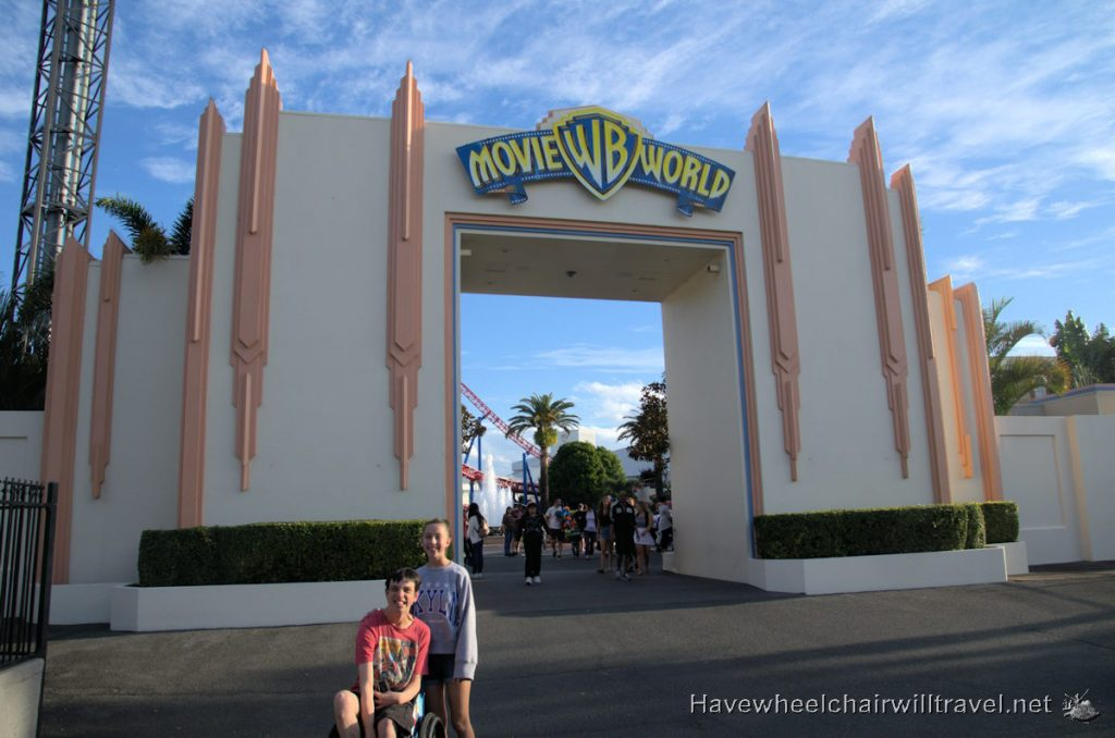 Movie World accessible Gold Coast