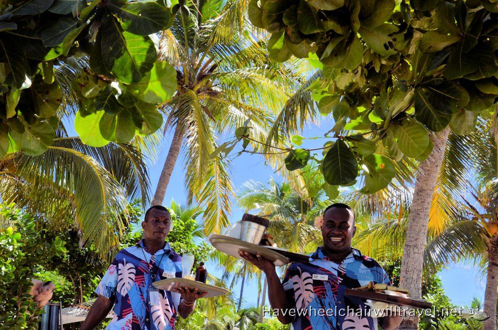 Malamala Beach Club Fiji - dining - Have Wheelchair Will Travel