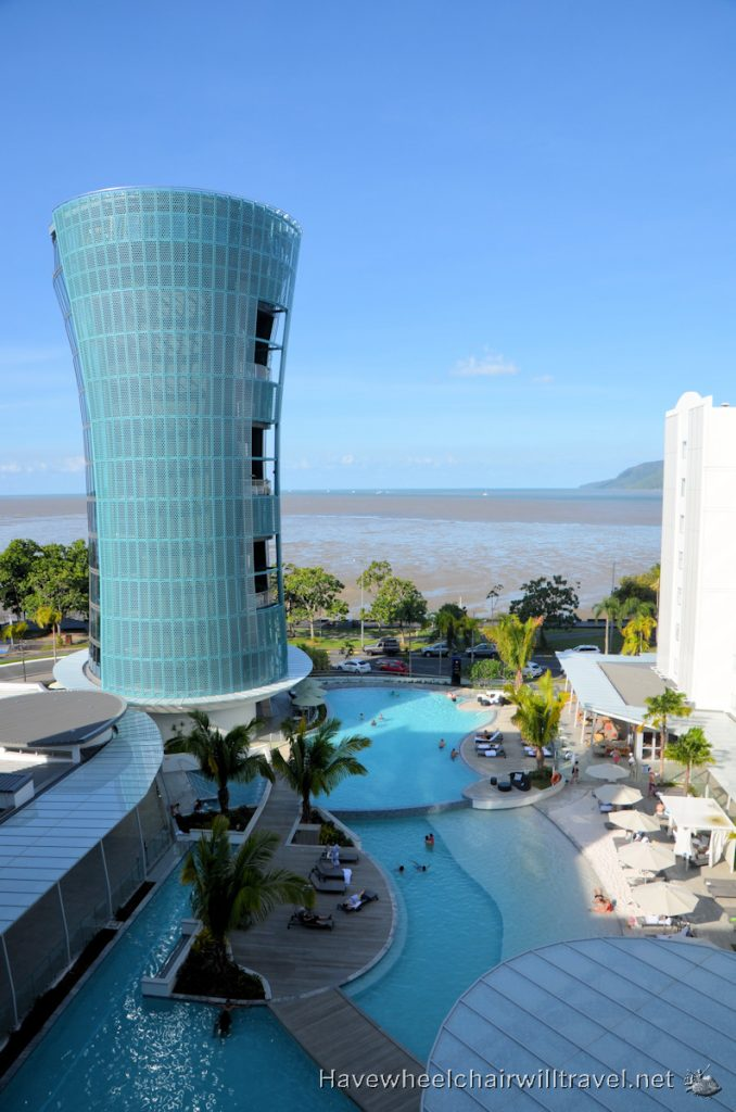 Riley Crystalbrook Hotel - accessible accommodation Cairns - Have Wheelchair Will Travel