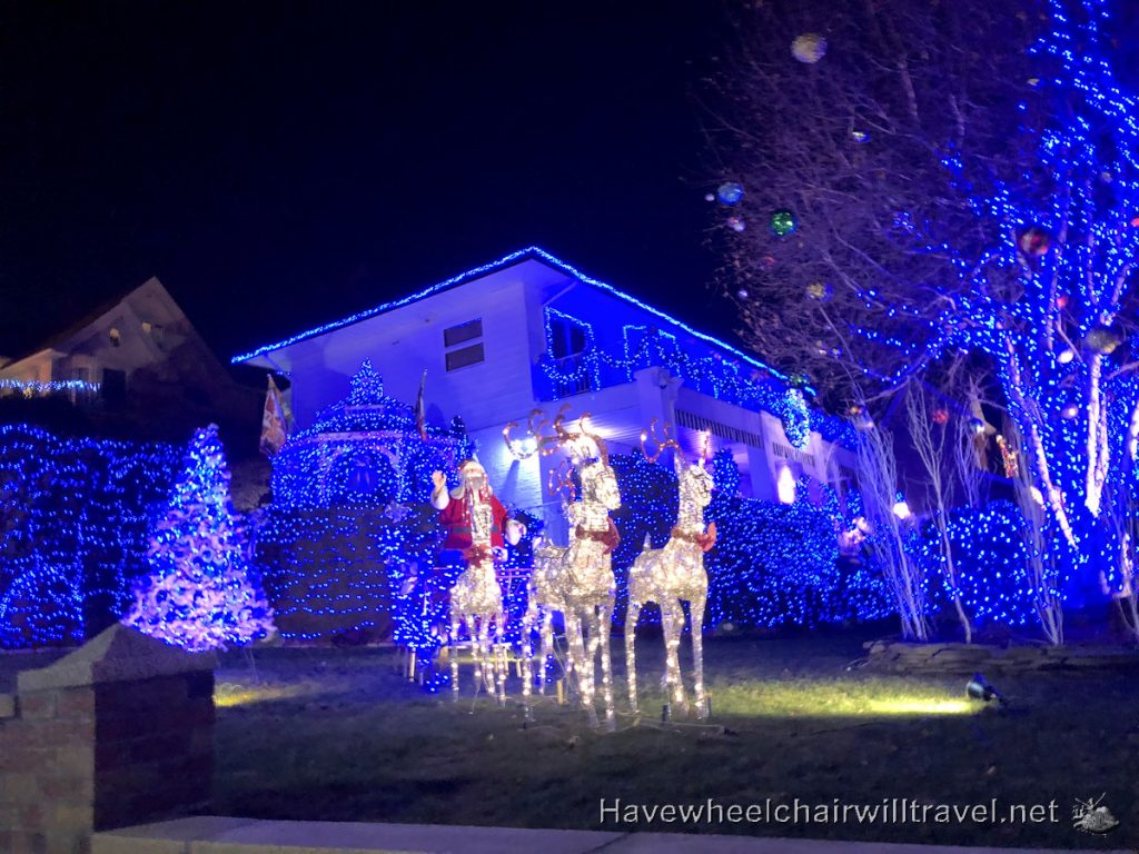 Dyker Heights Christmas lights - Have Wheelchair Will Travel