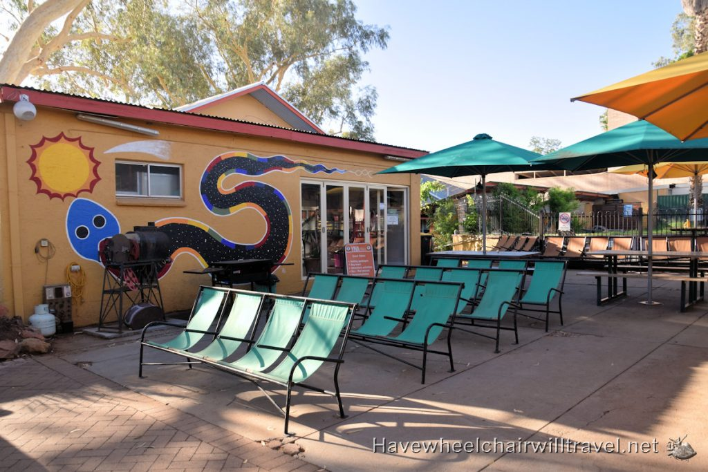 Alice Springs YHA - accessible Alice Springs - Have Wheelchair Will Travel