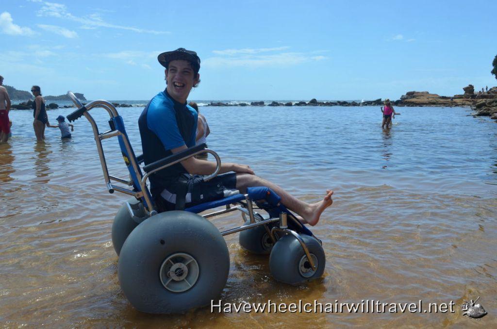 Avoca Beach - access for all.