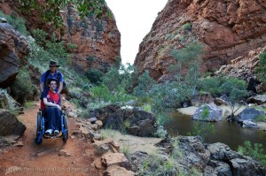 TRAVELLING WITH OFF-ROAD WHEELCHAIR TYRES