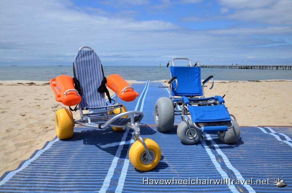 Accessible beach Melbourne