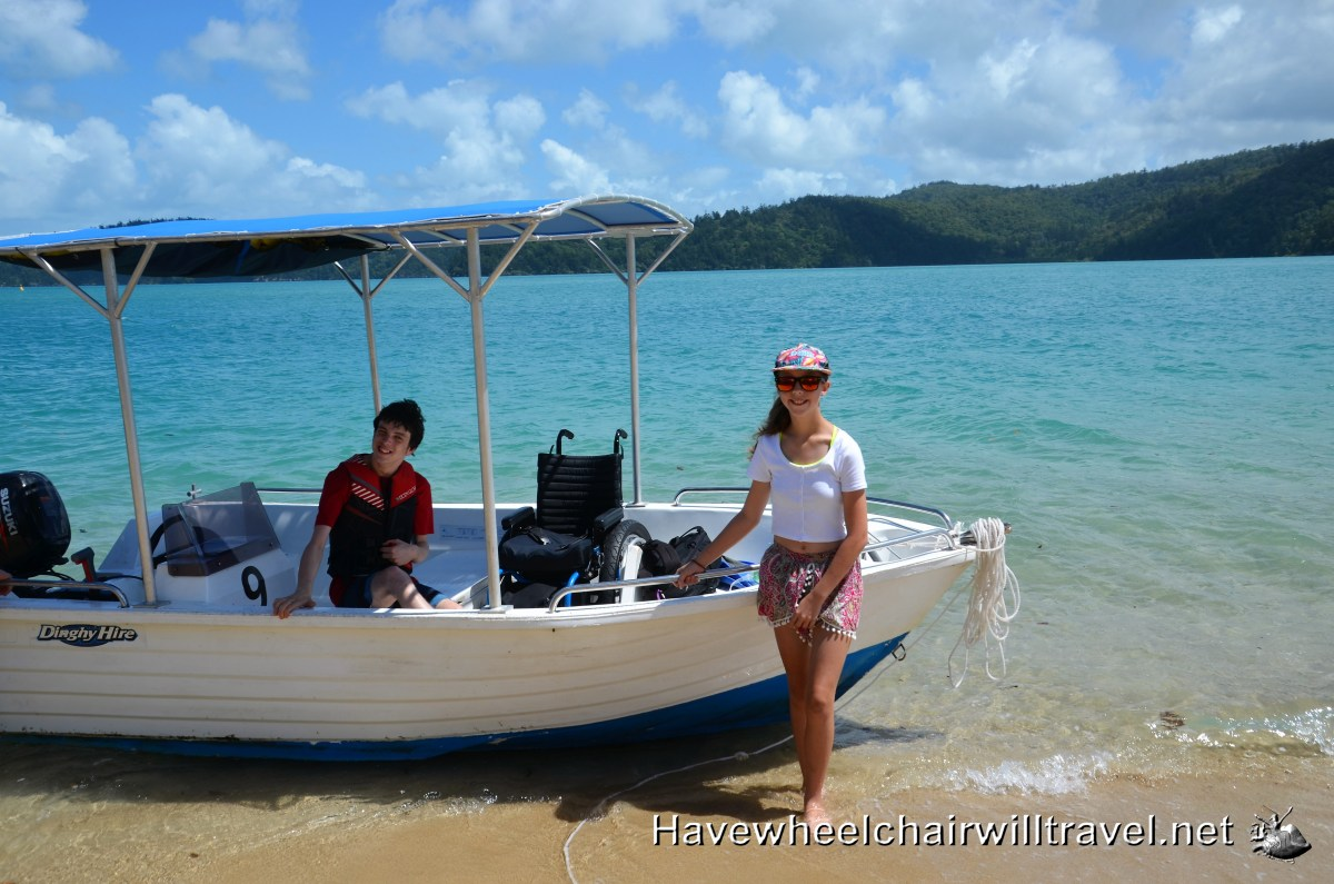 HAMILTON ISLAND ACTIVITIES DINGHY HIRE Have Wheelchair