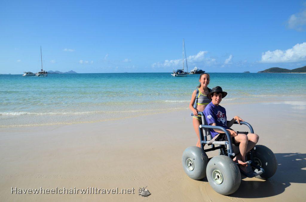 Cruise Whitsundays - wheelchair friendy Whitehaven Beach