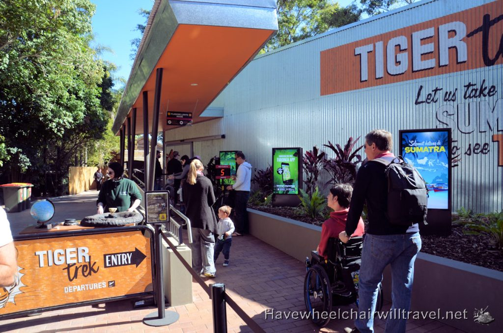 Taronga Zoo's Tiger Trek - wheelchair accessible Sydney