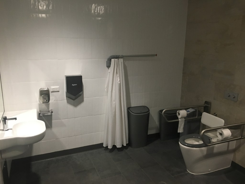 Brisbane accessible bathroom facilities