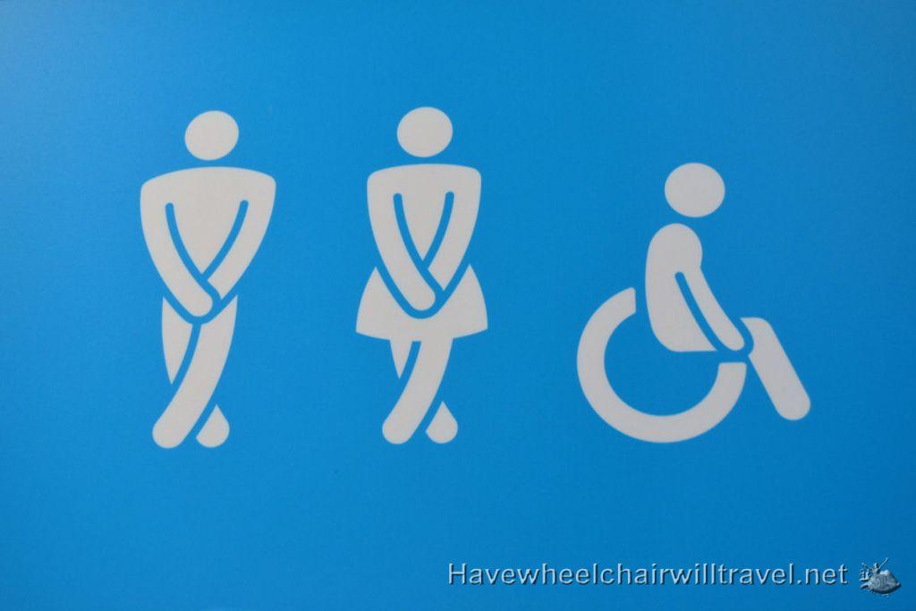 Brisbane - accessible bathroom facilities