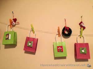 ADVENT CALENDAR IDEAS FOR CHILDREN WITH SPECIAL NEEDS