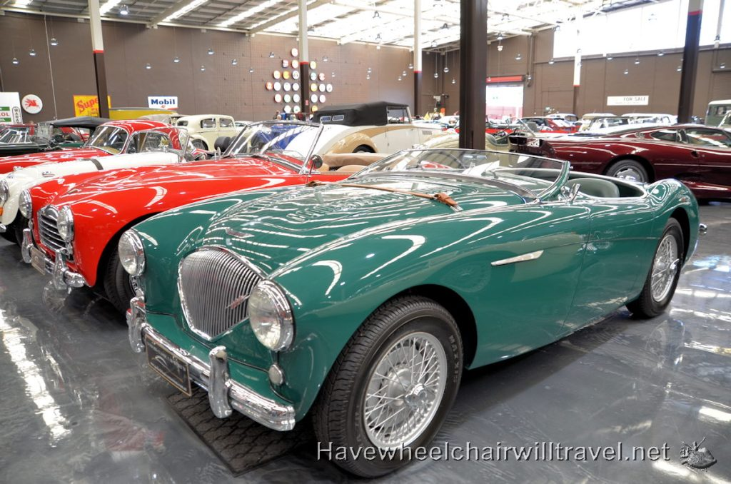Gosford Classic Car Museum - wheelchair accessible Central Coast