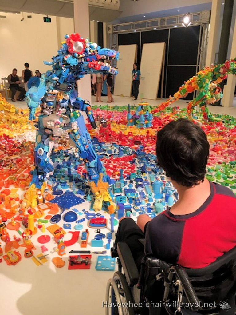 Jurassic Plastic - Sydney Festival wheelchair accessible