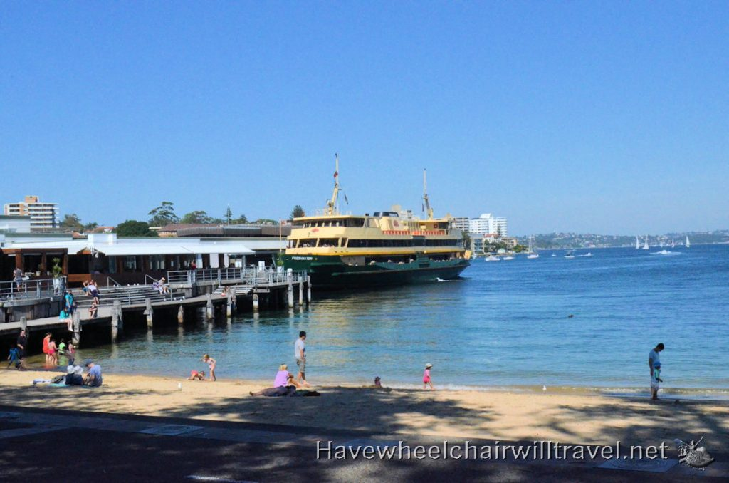 Manly Beach - wheelchair accessible Manly