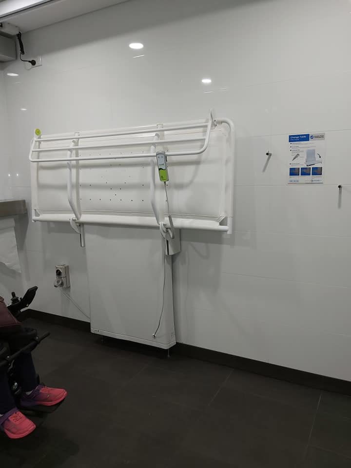 Macarthur Square Shopping Centre - Changing Places Bathroom - Have Wheelchair Will Travel