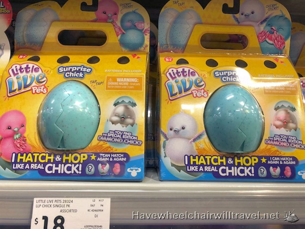 Making easter fun special needs chocolate alternatives have also in the toy aisle we found little live pets with a surprise chick being our pick for easter at kmart these were selling for 18 negle Choice Image