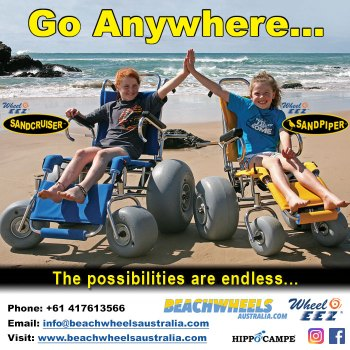 Beachwheels Australia - Expanding your horizons