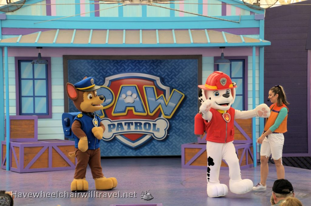 Paw Patrol Show Sea World