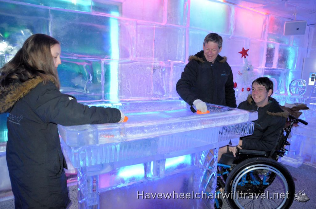Minus 5 Ice Bar accessible New Zealand