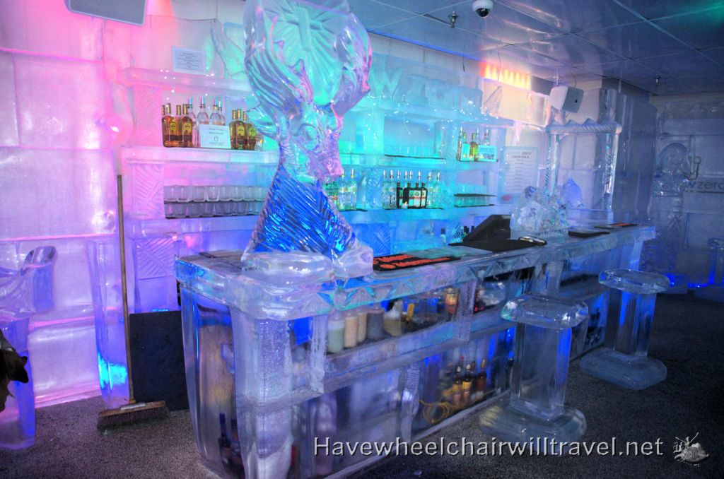 Minus 5 Ice Bar Queenstown accessible New Zealand